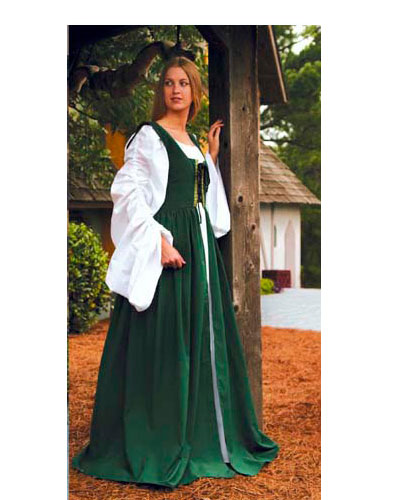 Customize Your Fair Maiden's Dress [Green]